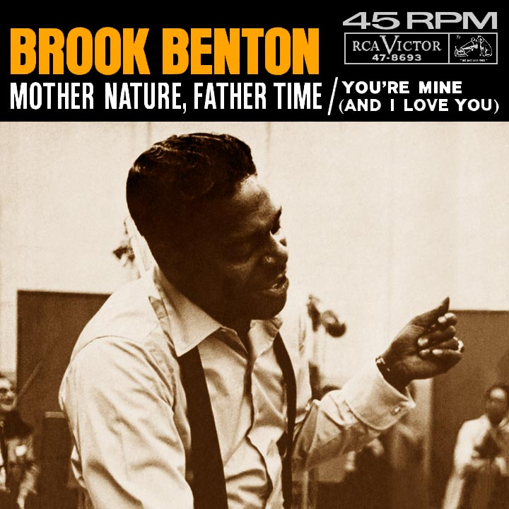Brook Benton Two Tickets To Paradise Dont Hate Me
