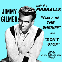 Jimmy Gilmer with the Fireballs