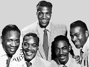Bill Pinkney, Gerhart Thrasher, Clyde McPhatter, Willie Ferbee, Andrew Thrasher